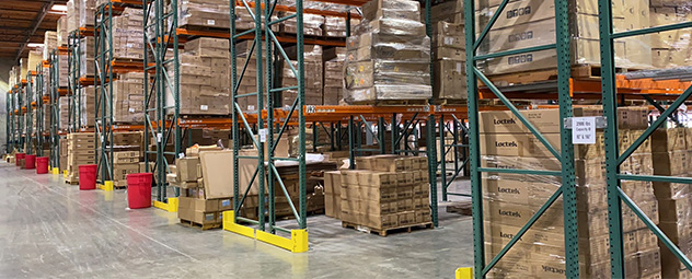 340k Square Feet Warehouses around the GlobeD